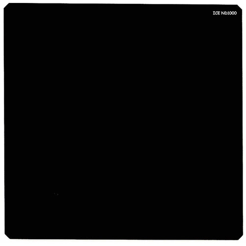 Ice 150 x 150mm ND1000 Solid Neutral Density 3.0 Filter (10-Stop)