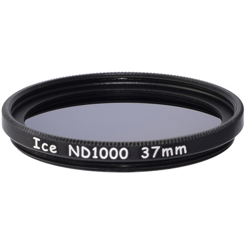 Ice 37mm ND1000 Solid Neutral Density 3.0 Filter (10-Stop)