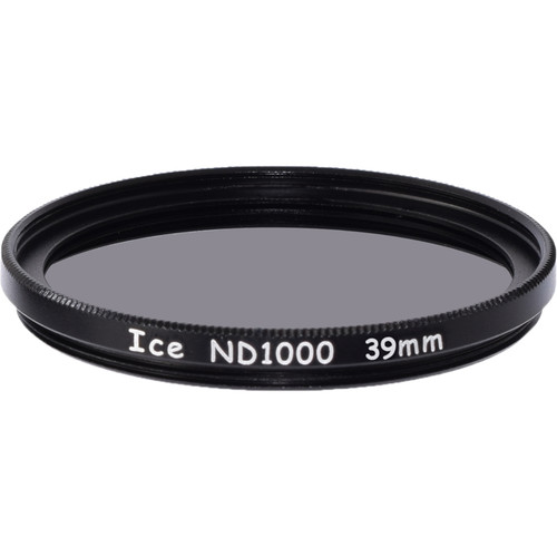 Ice 39mm ND1000 Solid Neutral Density 3.0 Filter (10-Stop)