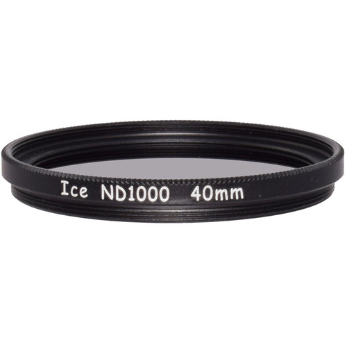 Ice 40mm ND1000 Solid Neutral Density 3.0 Filter (10-Stop)