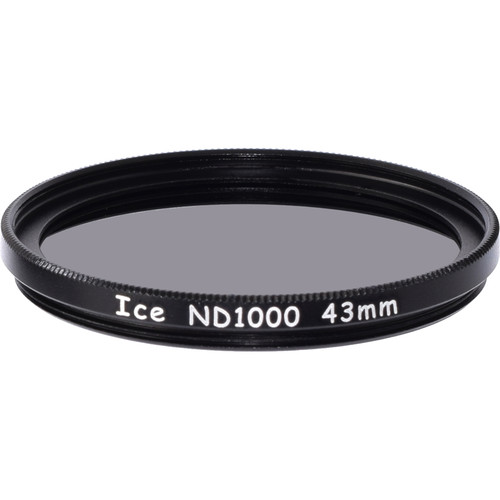 Ice 43mm ND1000 Solid Neutral Density 3.0 Filter (10-Stop)