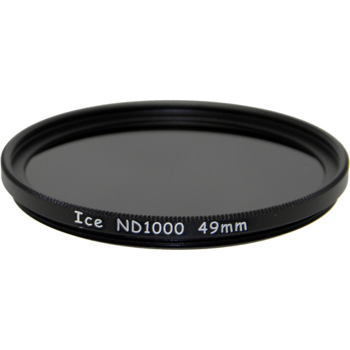 Ice 49mm ND1000 Solid Neutral Density 3.0 Filter (10-Stop)