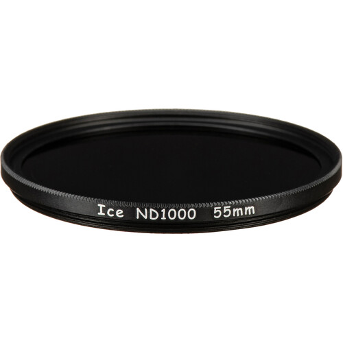 Ice 55mm ND1000 Solid Neutral Density 3.0 Filter (10-Stop)