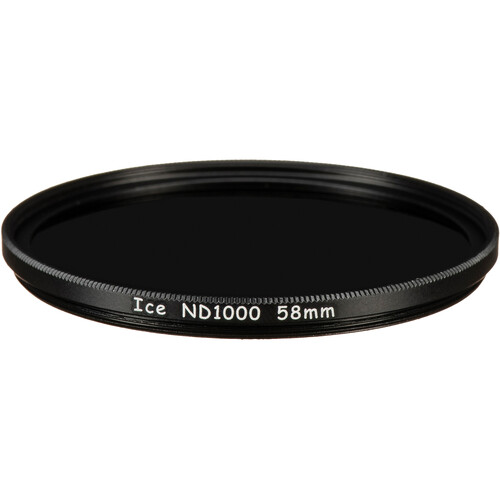 Ice 58mm ND1000 Solid Neutral Density 3.0 Filter (10-Stop)