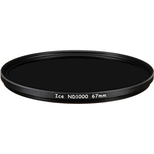 Ice 67mm ND1000 Solid Neutral Density 3.0 Filter (10-Stop)