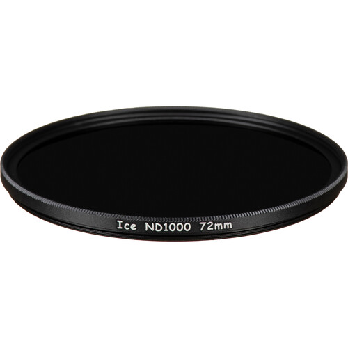 Ice 72mm ND1000 Solid Neutral Density 3.0 Filter (10-Stop)