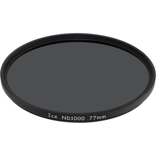 Ice 77mm ND1000 Solid Neutral Density 3.0 Filter (10-Stop)