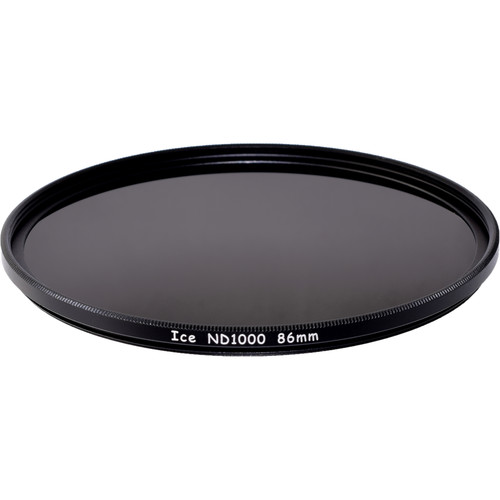 Ice 86mm ND1000 Solid Neutral Density 3.0 Filter (10-Stop)
