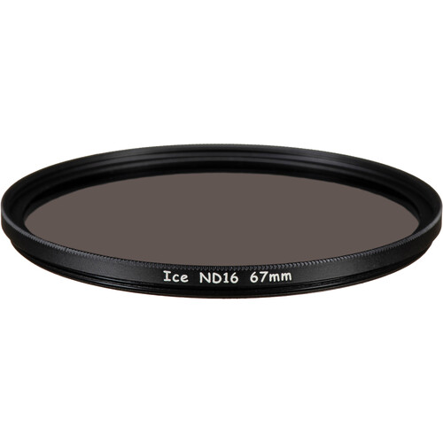 Ice 67mm ND16 Solid Neutral Density 1.2 Filter (4-Stop)