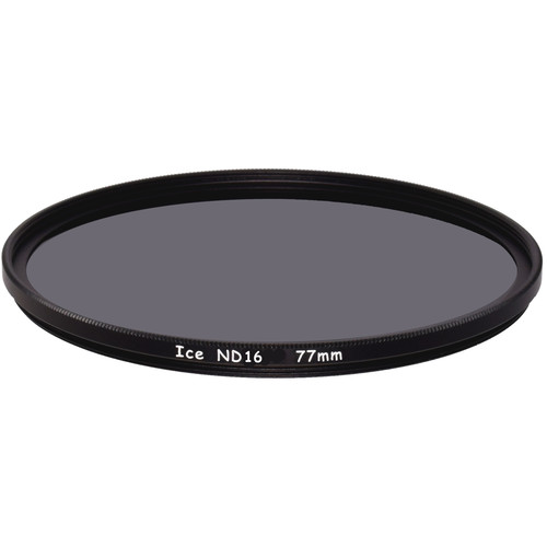 Ice 77mm ND16 Solid Neutral Density 1.2 Filter (4-Stop)