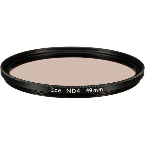 Ice 77mm ND4 Solid Neutral Density 0.6 Filter (2-Stop)