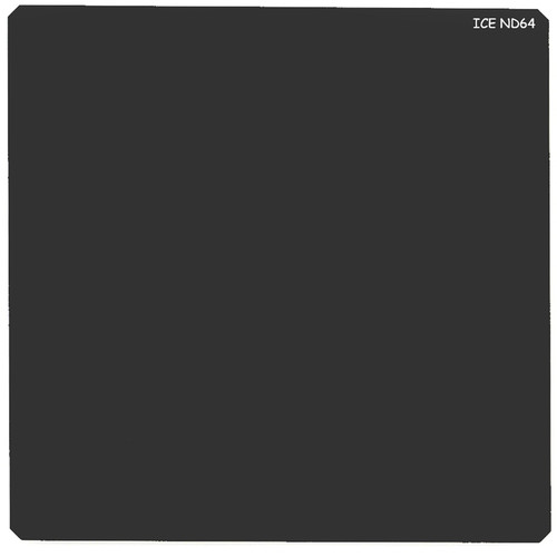 Ice 150 x 150mm ND64 Solid Neutral Density 1.8 Filter (6-Stop)