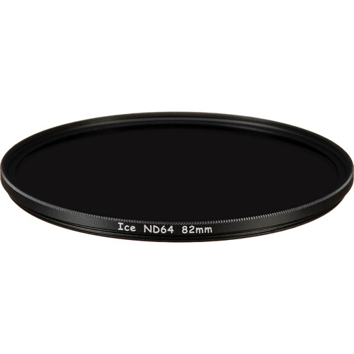 Ice 82mm ND64 Solid Neutral Density 1.8 Filter (6-Stop)