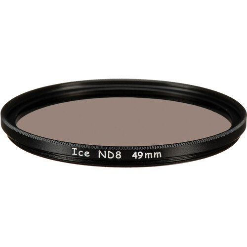Ice 77mm ND8 Solid Neutral Density 0.9 Filter (3-Stop)