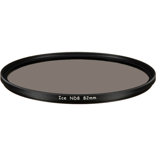Ice 82mm ND8 Solid Neutral Density 0.9 Filter (3-Stop)
