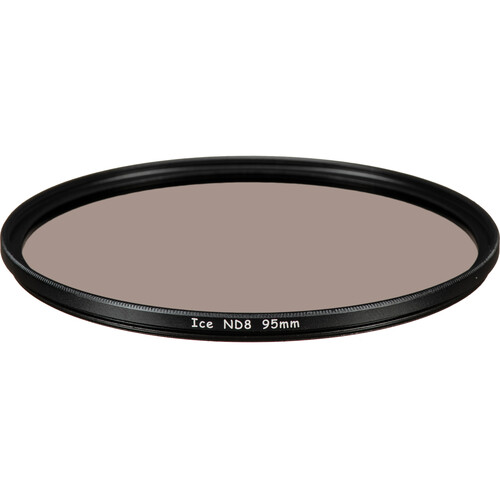 Ice 95mm ND8 Solid Neutral Density 0.9 Filter (3-Stop)