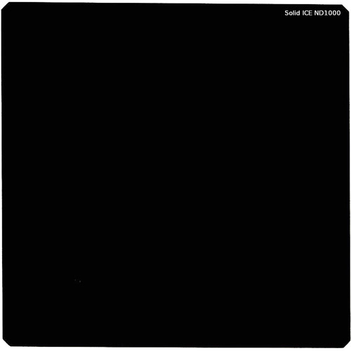 Ice 150 x 150mm Solid ICE ND1000 Neutral Density 3.0 Filter (10-Stop)