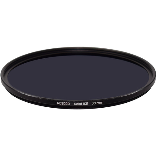 Ice 77mm Solid ICE ND1000 Neutral Density 3.0 Filter (10-Stop)