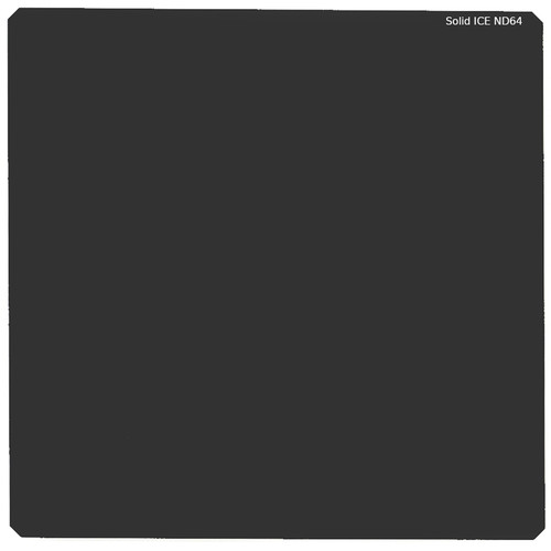 """Ice 150x150mm/6x6"""" ND64/1.8 Solid-Ice Glass Filter"""
