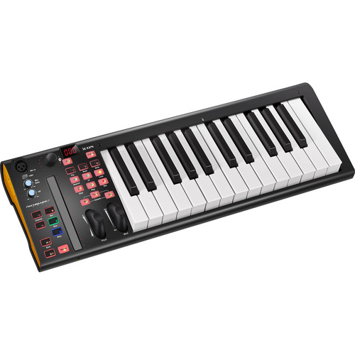Icon Pro Audio iKeyboard 3S VST 25-Key MIDI Controller & 2-Channel USB Audio Interface