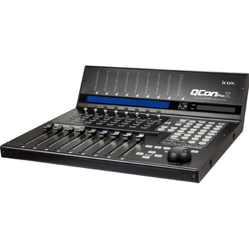 Icon Pro Audio QCon Pro X - USB MIDI Controller Station with Motorized Faders