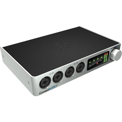 iConnectivity iConnectAUDIO4+ Audio + MIDI Interface for Mac, PC, and iOS