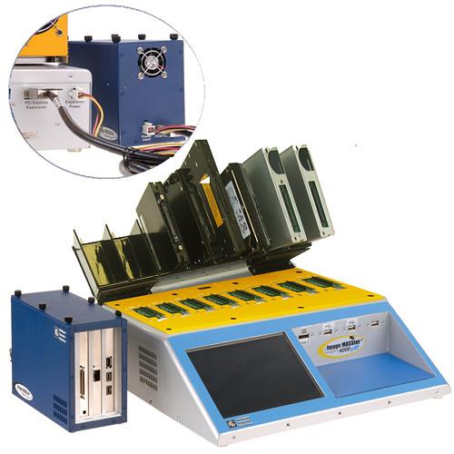 ICS Image MASSter 4000PRO X2 Hard Drive Duplicator/Eraser with Open Drive Tray