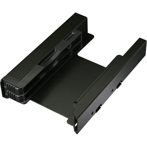 """Icy Dock EZ-Fit PRO Dual 2.5"""" to 3.5"""" SSD/HDD Mounting Bracket (Matte Black)"""