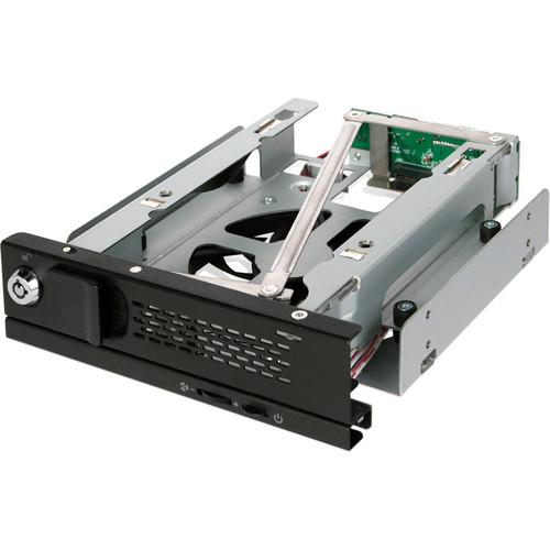 "Icy Dock TurboSwap MB171SP-B Tray-Less 3.5"" SATA Hard Drive Mobile Rack (Black)"