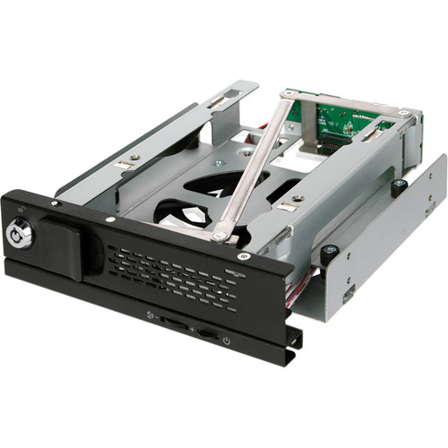 "Icy Dock TurboSwap MB171SP-B Tray-Less 3.5"" SATA Hard Drive Mobile Rack (Black)"