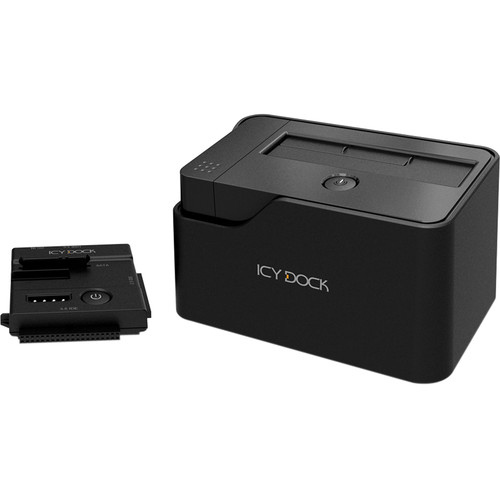 "Icy Dock EZ-Dock Flex 2.5""/3.5"" USB 3.0 SATA and IDE Docking Station (Black)"