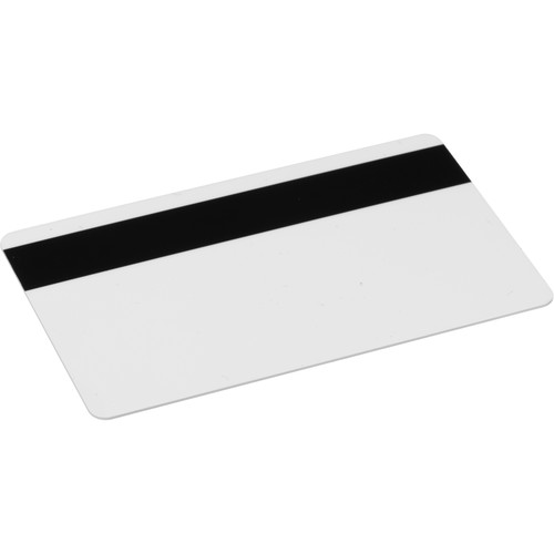IDC CR-80 High-Coercivity Magnetic Stripe PVC Cards (500 Cards)