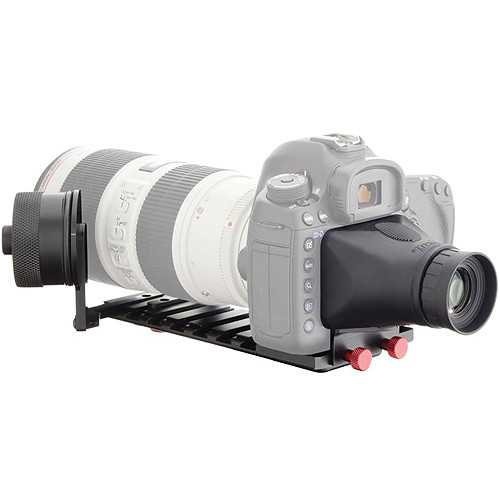 iDC Photo Video SYSTEM ZERO XL1 Follow-Focus with Viewfinder for Canon 5D MarkIII