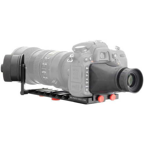 iDC Photo Video SYSTEM ZERO XL1 Follow-Focus with Viewfinder for Nikon D800