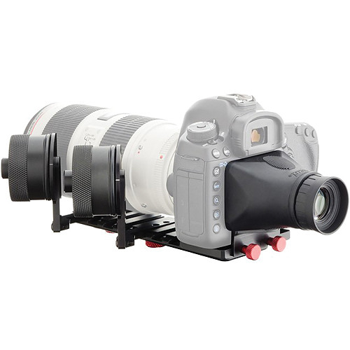 iDC Photo Video SYSTEM ZERO XL2 Follow-Focus with Viewfinder for Canon 5D MarkIII