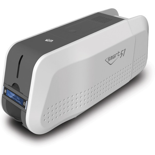 IDP SMART-51D Dual-Sided ID Card Printer with Ethernet Bundle