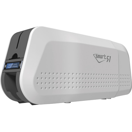IDP SMART-51D Double-Sided ID Card Printer with Magnetic Encoding