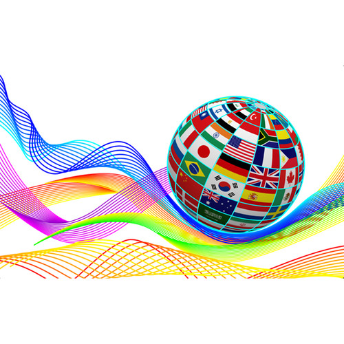 IDP Hologram Patch Type 1-Mil Laminate Film (Globe Flags, 250 Images Per Roll)
