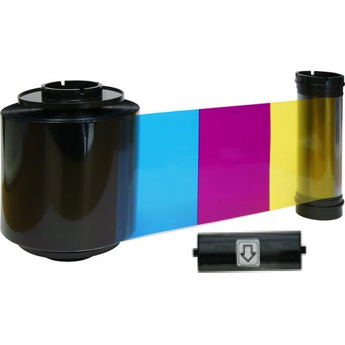 IDP 659112 YMCKO Half-Panel Color Ribbon for Smart-70 Printer (1000 Cards/Roll)