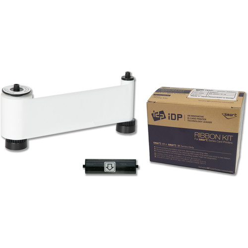IDP W Resin White Ribbon for SMART-51 Printers