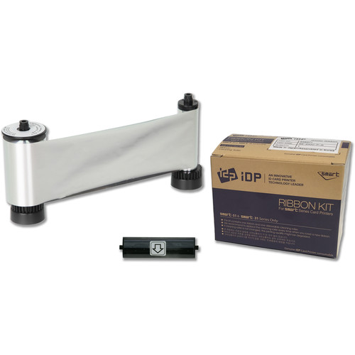 IDP MS Resin Metallic Silver Ribbon for SMART-51 Printers