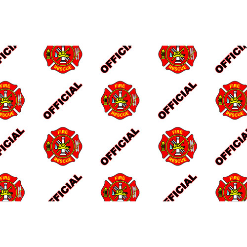 IDP Hologram Patch Type 1-Mil Laminate Film (Official Fire/Rescue, 500 Images Per Roll)