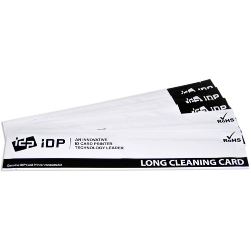 IDP WISE Large Sticker Cleaning Card Kit (10-Pieces)