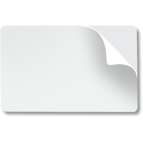 IDP Mylar Adhesive Backed Cards, CR80, 14 Mils (Qty 100)