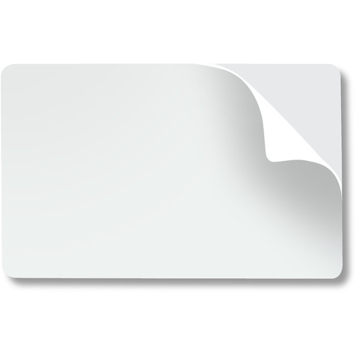 IDP 900301 14-Mil CR80 Pre-Punched Mylar Adhesive-Backed Cards (100 Cards)