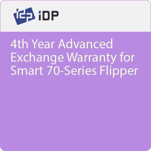 IDP 4th Year Advanced Exchange Warranty for Smart 70-Series Flipper