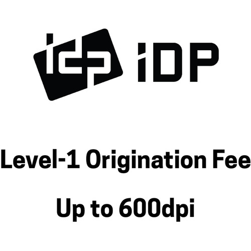 IDP Custom Hologram Origination Fee, Level 1 (up to 600)