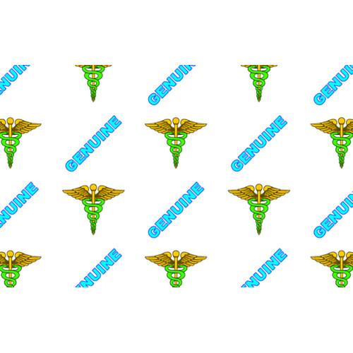 IDP Hologram Patch Type 1-Mil Laminate Film (Genuine Medical, 250 Images Per Roll)