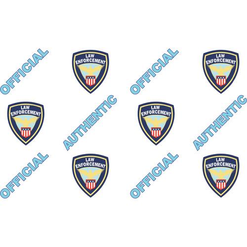 IDP Hologram Patch Type 1-Mil Laminate Film (Law Enforcement, 250 Images Per Roll)
