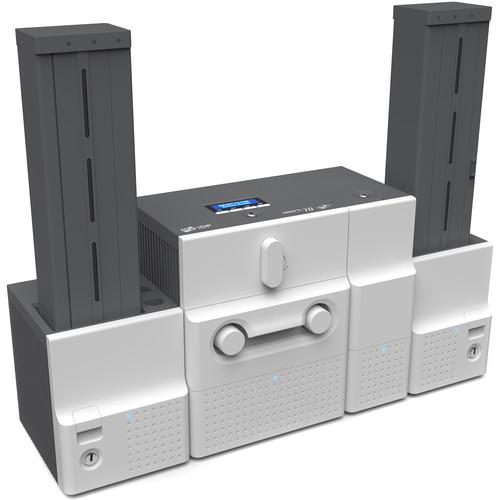 IDP Smart-70 Dual-Sided Printer with 500-Card Input Hopper, Flipper and 500-Card Output Hopper